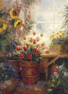 Sunflower Garden I