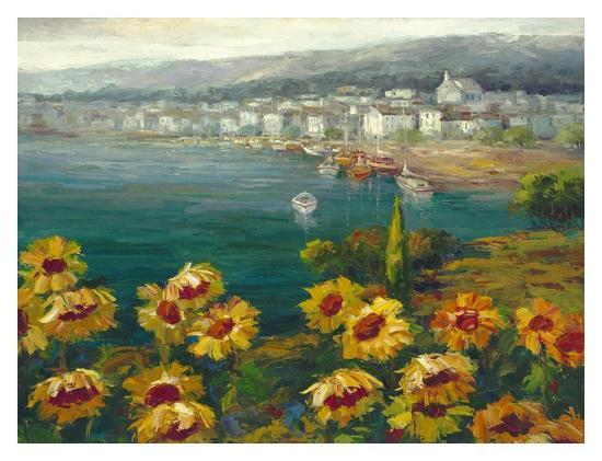 Sunflower Harbor-Lawson-Art Print