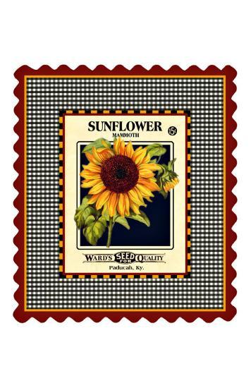 Sunflower Seed Pack--Giclee Print