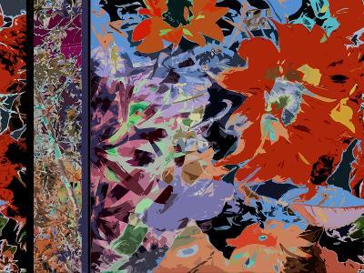 Sunflower Series Red-Ruth Palmer-Art Print