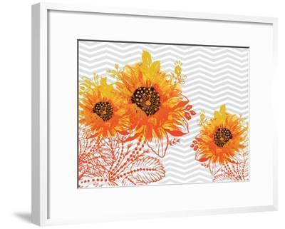 Sunflower Sunday-Bee Sturgis-Framed Art Print