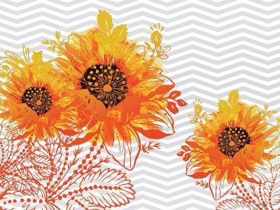 Sunflower Sunday-Bee Sturgis-Art Print