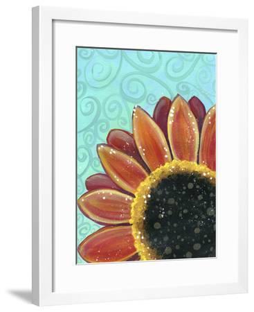 Sunflower Swirl-Jennifer Nilsson-Framed Giclee Print