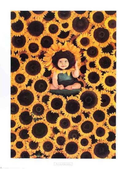 Sunflower-Anne Geddes-Collectable Print