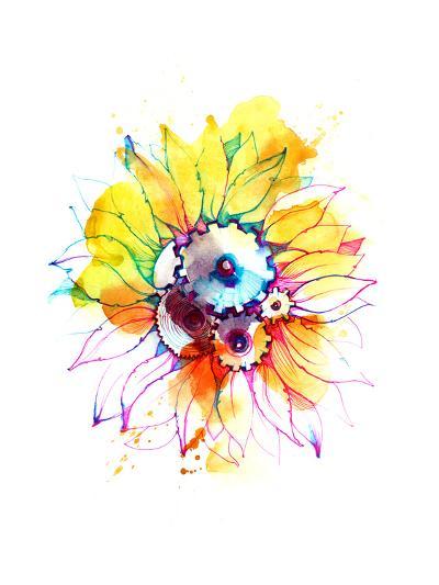Sunflower-okalinichenko-Art Print
