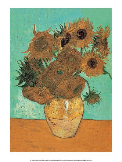 Sunflowers, 1888-Vincent van Gogh-Art Print