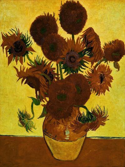 Sunflowers, 1888-Vincent van Gogh-Giclee Print