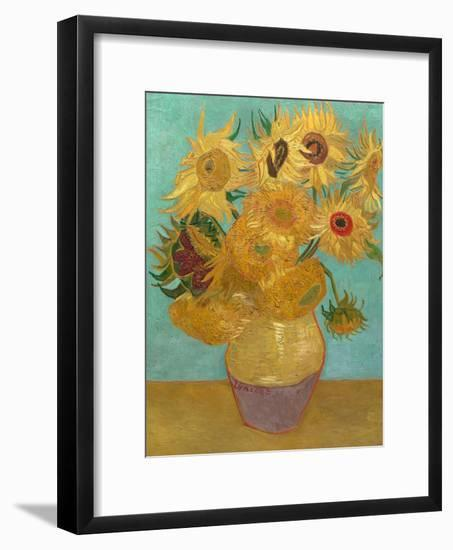 Sunflowers, 1889-Vincent van Gogh-Framed Art Print