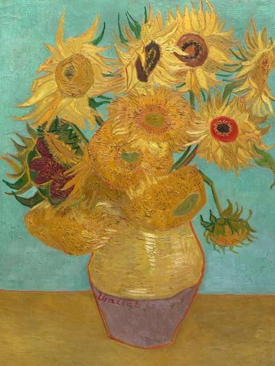 Sunflowers, 1889-Vincent van Gogh-Art Print