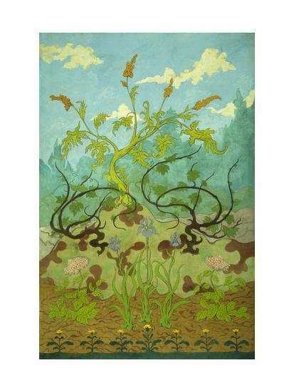 Sunflowers and Poppies-Paul Ranson-Giclee Print