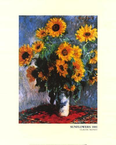 Sunflowers, c.1881-Claude Monet-Art Print