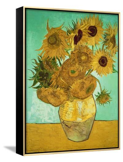 Sunflowers, c.1888-Vincent van Gogh-Framed Canvas Print