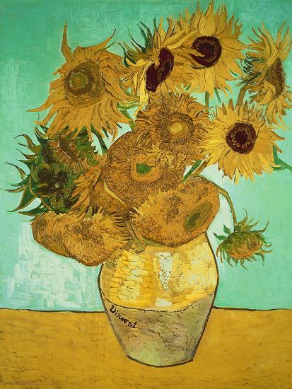 Sunflowers, c.1888-Vincent van Gogh-Giclee Print