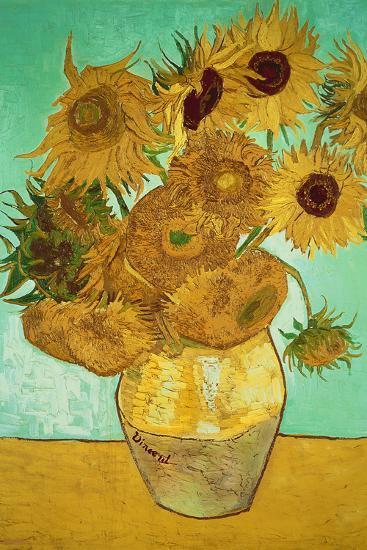 Sunflowers, c.1888-Vincent van Gogh-Giant Art Print