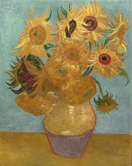 Sunflowers, c.1889-Vincent van Gogh-Art Print