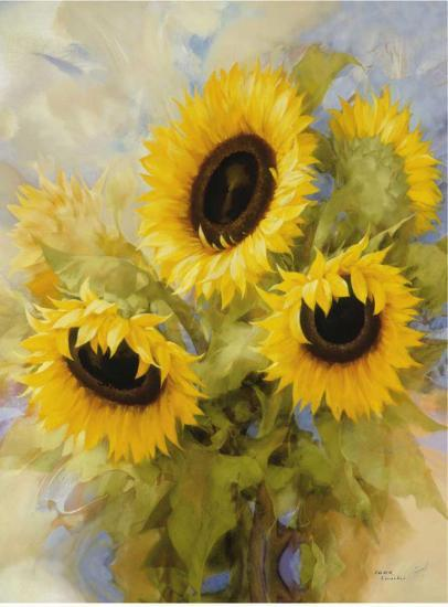 Sunflowers Dream-Igor Levashov-Art Print