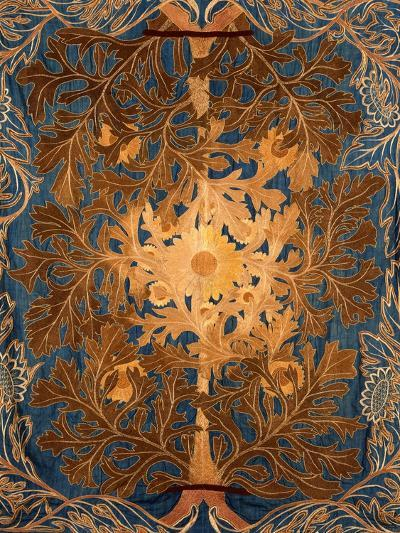 Sunflowers, England, Late 19th Century-William Morris-Premium Giclee Print