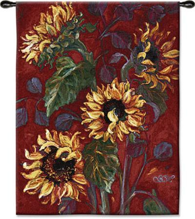 Sunflowers I--Wall Tapestry