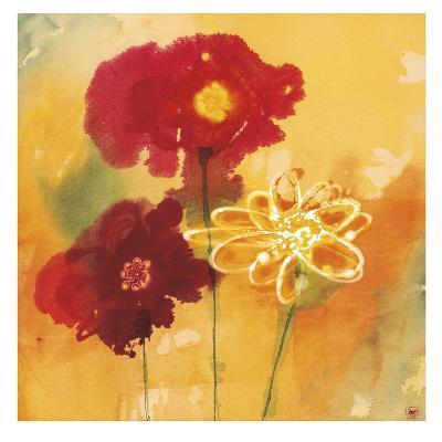 Sunflowers II-Aunaray Carol Clusiau-Art Print