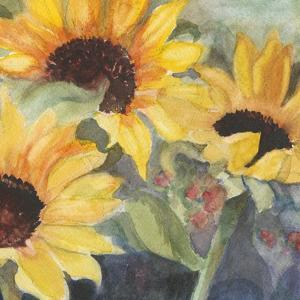 Sunflowers in Watercolor II