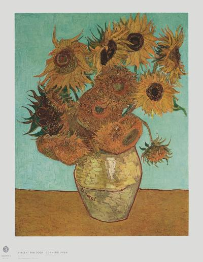 Sunflowers-Vincent van Gogh-Collectable Print