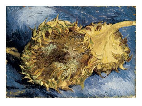 Sunflowers-Vincent van Gogh-Art Print