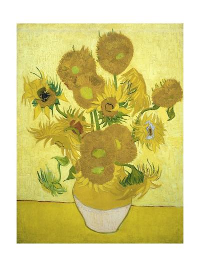 Sunflowers-Vincent van Gogh-Giclee Print