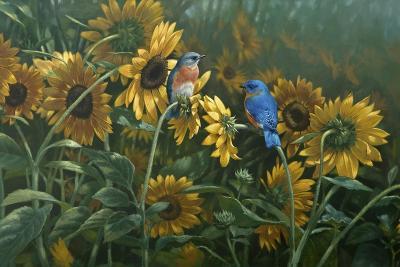 Sunflowers-Michael Jackson-Giclee Print