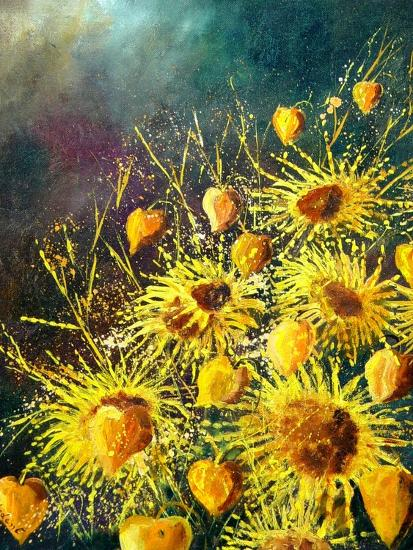 Sunflowers-Pol Ledent-Art Print