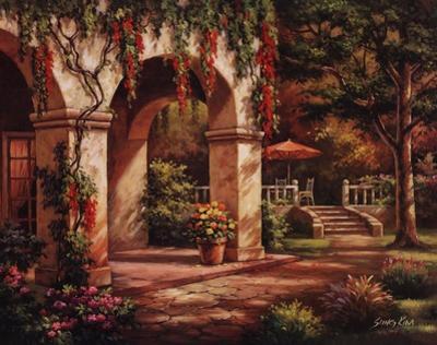 Arch Courtyard II by Sung Kim