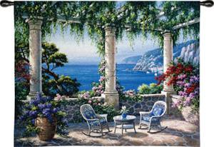 Mediterranean Terrace by Sung Kim