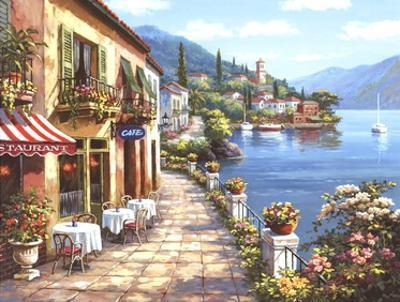 Overlook Cafe I by Sung Kim
