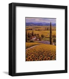 Sunflower Field by Sung Kim