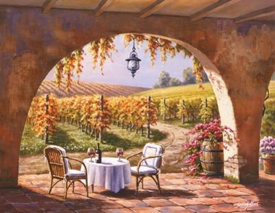 Vineyard for Two by Sung Kim