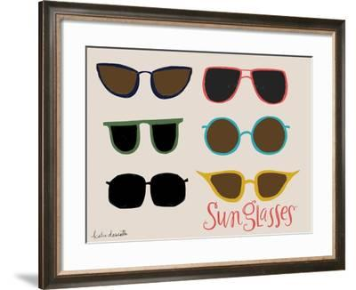 Sunglasses-Katie Doucette-Framed Art Print