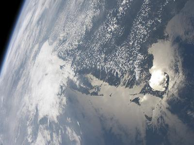 Sunglint On the Waters of Earth-Stocktrek Images-Photographic Print