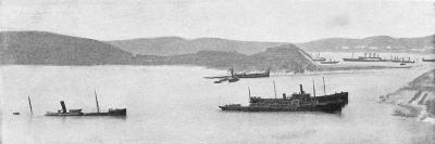 Sunken Japanese Ships, Russo-Japanese War, 1904-5--Giclee Print