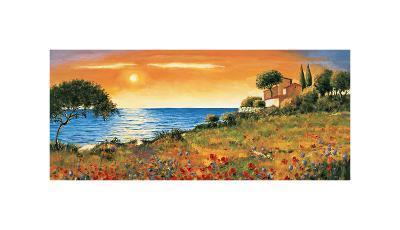 Sunlight Coast-Richard Leblanc-Giclee Print