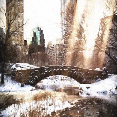 Sunlight on Central Park-Philippe Hugonnard-Giclee Print