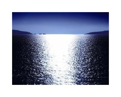 Sunlight Reflection - Blue-Maggie Olsen-Giclee Print