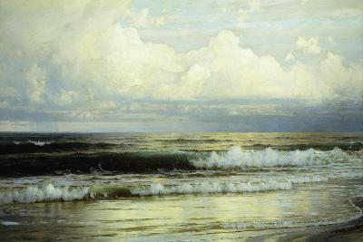 Sunlit Clouds and Sea, 1897-William Trost Richards-Giclee Print