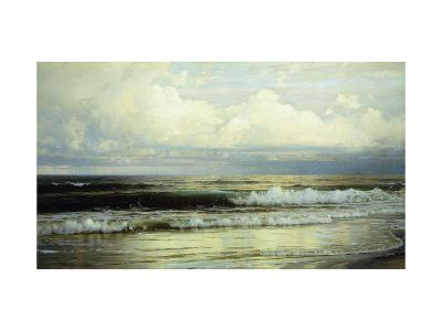 Sunlit Clouds and Sea-William Trost Richards-Giclee Print