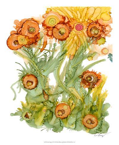 Sunlit Poppies III-Cheryl Baynes-Giclee Print