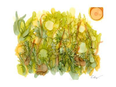 Sunlit Poppies IV-Cheryl Baynes-Art Print