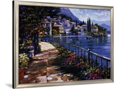 Sunlit Stroll-Howard Behrens-Framed Art Print
