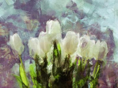 Sunlit Tulips II-Noah Bay-Art Print