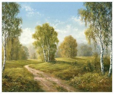 Sunny Afternoon-H^ Buchner-Art Print