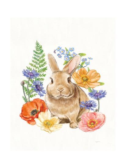 Sunny Bunny II FB-Mary Urban-Art Print