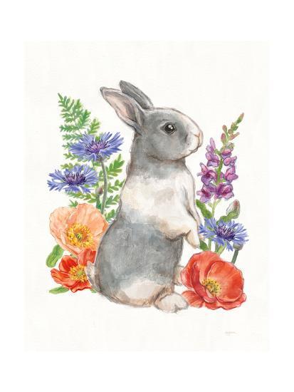 Sunny Bunny IV FB-Mary Urban-Art Print