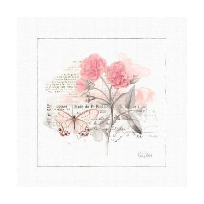 Sunny Day IV Pink-Katie Pertiet-Art Print